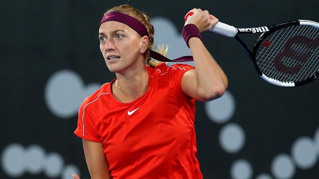 Kvitova topples Kerber to reach Sydney semis