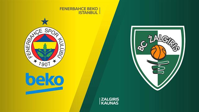 Highlights: Fenerbahce Beko-Zalgiris Kaunas 76-43