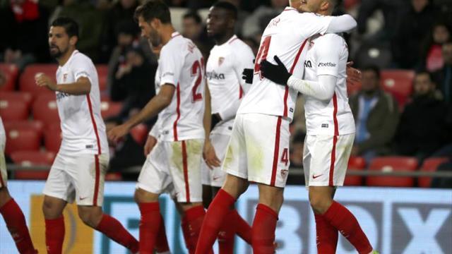 1-3. El Sevilla abre la trilogía ante el Athletic sentenciando en Copa