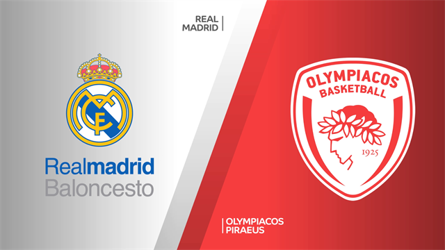Highlights: Real Madrid-Olympiacos Pireo 94-78