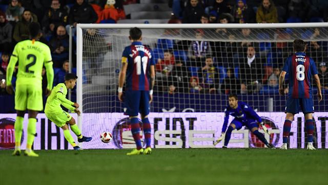 Ohne Messi und Suárez: Pokal-Pleite für Barça in Levante