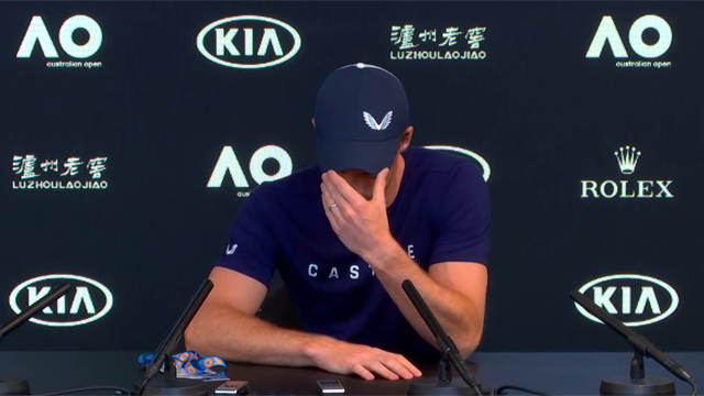 The full, emotional press conference as Murray admits end is near