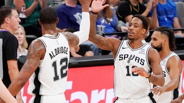 Los Spurs de Gasol, líderes tras ganar a los Thunder tras dos prórrogas y 56 puntos de Aldridge