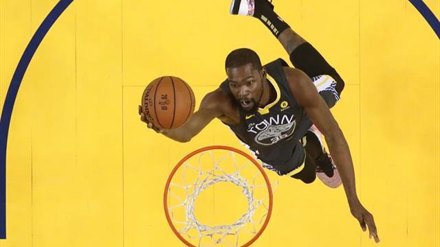 Hinchas dejan a Durant por fuera del quinteto titular de la Conferencia Oeste