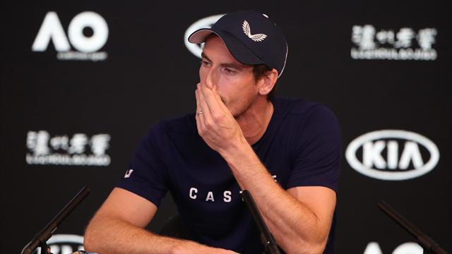 """Murray in lacrime in conferenza stampa: """"Non riesco più a convivere con questo dolore"""""""