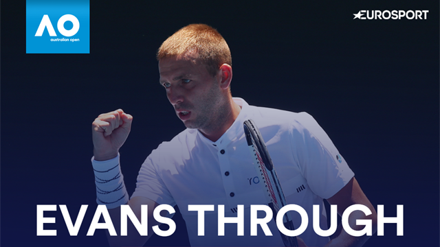 Highlights: Dan Evans makes Australian Open main draw with win over Lorenzi