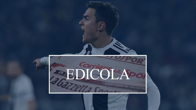 Edicola: A Manchester sicuri: lo United a gennaio tornerà su Dybala, Barça-Messi rinnovo a vita?