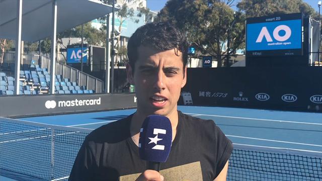 """Open Australia 2019, Munar: """"Las condiciones son óptimas y tengo muchas ganas de jugar ante Fognini"""""""