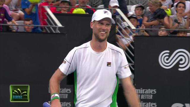 Highlights: Seppi sees off Schwartzmann in Sydney