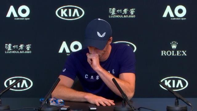Très touché après son annonce, Murray a craqué et fondu en larmes