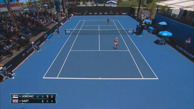 Highlights: Harriet Dart qualifies for Australian Open main draw