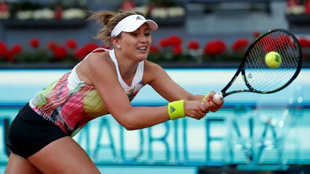 Paula Badosa se estrenará en la fase final de un Grand Slam ante Birrell