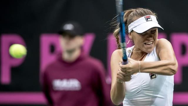 Final en Hobart entre Sofia Kenin y Anna Karolina Schmiedlová