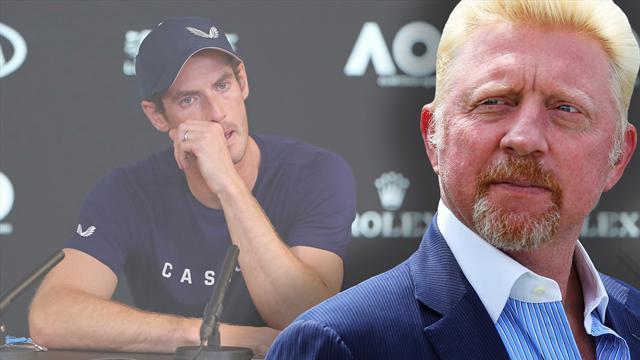 """""""Hat mich getroffen!"""" Becker fühlt mit Murray"""