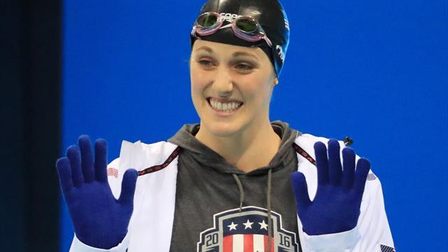Fünfmalige Olympiasiegerin Franklin beendet Schwimmkarriere
