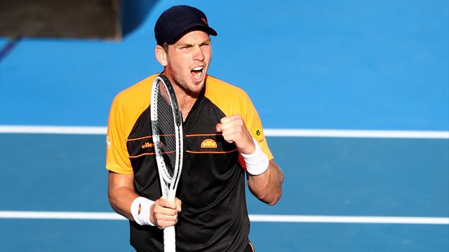 Norrie sets up first ATP Tour final against Sandgren in Auckland