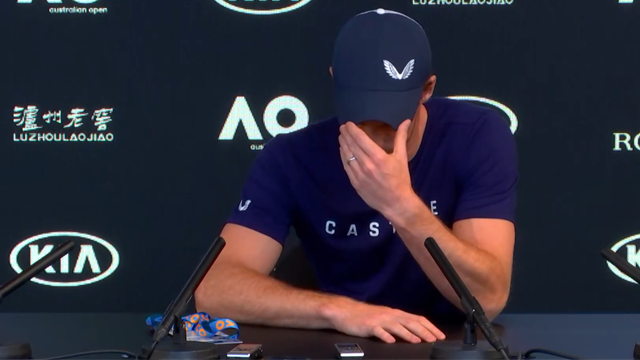 Open Australia 2019: Murray rompe a llorar al anunciar su intención de retirarse tras Wimbledon