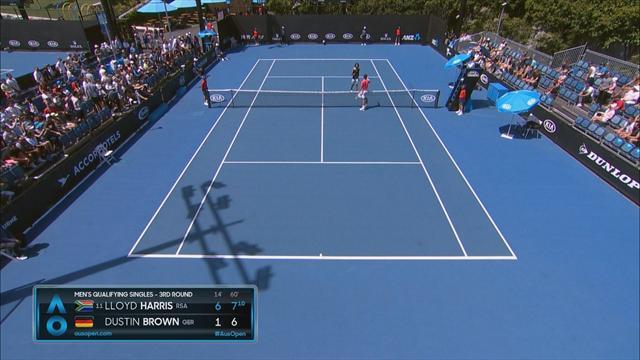 Frühes Aus: Brown verpasst Sprung ins Hauptfeld der Australian Open