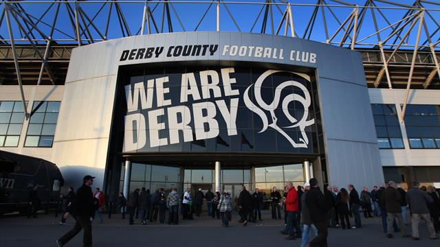 Derby say man escorted from perimeter of training ground was Leeds employee