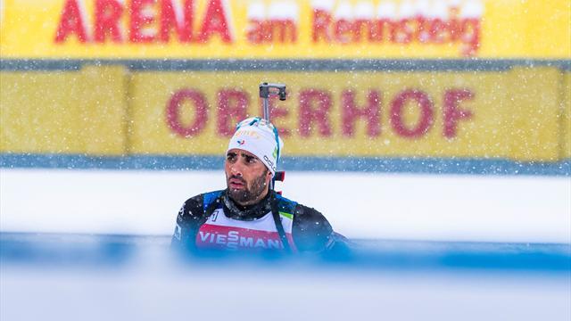 Fourcade échoue à la 7e place, Loginov stoppe Boe