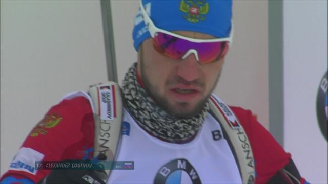 Loginov seals maiden career win