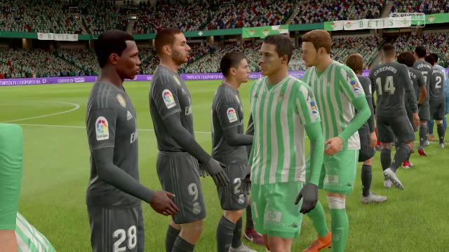Liga Virtual: Así ha quedado el Betis-Madrid