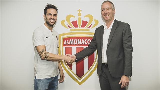 🚨 OFICIAL: Cesc Fábregas ya es jugador del Mónaco