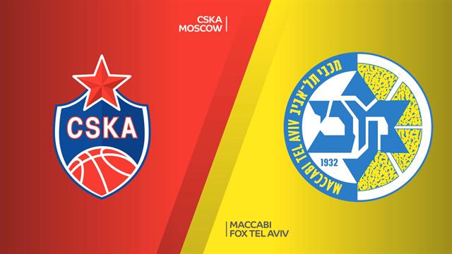 Highlights: CSKA Mosca-Maccabi Fox Tel Aviv 76-93