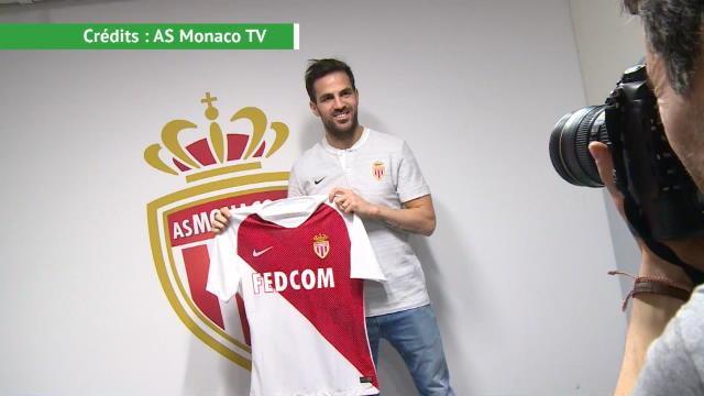 Ligue 1 - Les premières images de Fabregas à Monaco