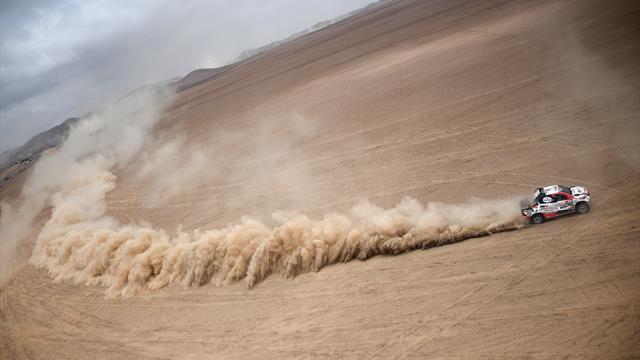 Mit Video | Al-Attiyah baut Führung aus - zweiter Etappensieg für Loeb