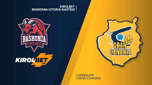 Highlights: Kirolbet Baskonia Vitoria-Herbalife Gran Canaria 83-66