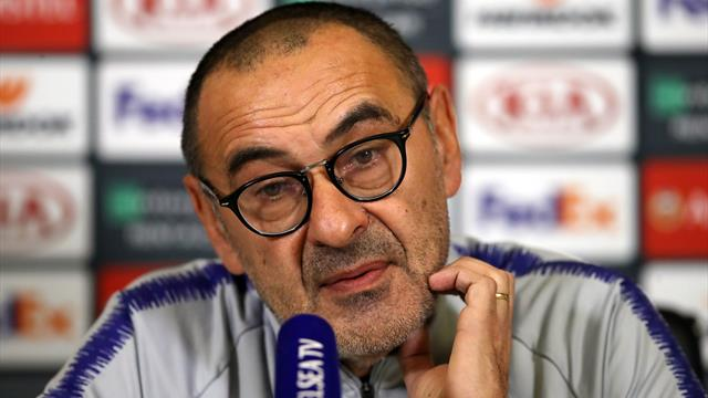 Sarri: Chelsea could beat England but are still a work in progress