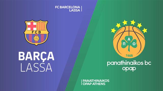 Highlights: Barcellona Lassa-Panathinaikos OPAP 79-68