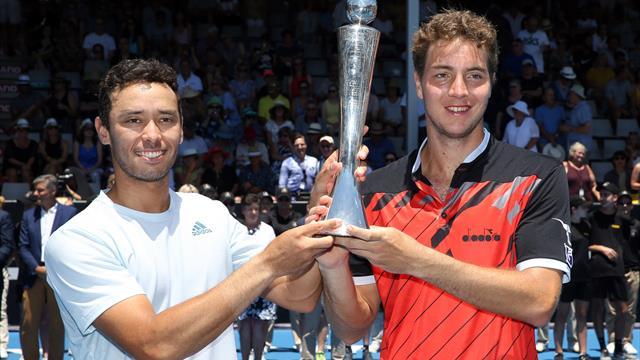 Struff gewinnt Doppeltitel in Auckland