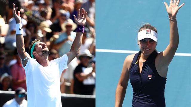 Le tennis américain à la fête : Sandgren et Kenin titrés pour la première fois