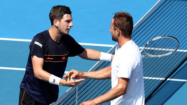 Norrie misses out as Sandgren claims first ATP title in Auckland