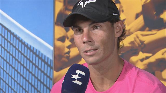 "Open Australia 2019: Nadal, en exclusiva a Eurosport: ""Llego con la ilusión de volver a competir"""