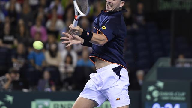 Norrie loses first ATP Tour final to Sandgren in Auckland
