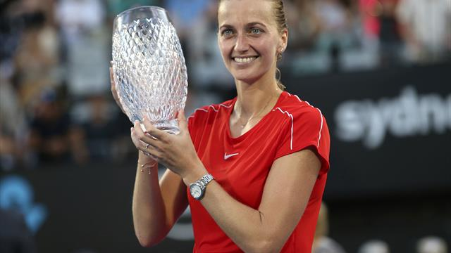 Kvitova overcomes Barty to take Sydney International title