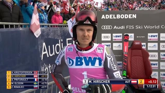 Segnali di vita da Kristoffersen: comanda la prima manche di Adelboden davanti a Hirscher