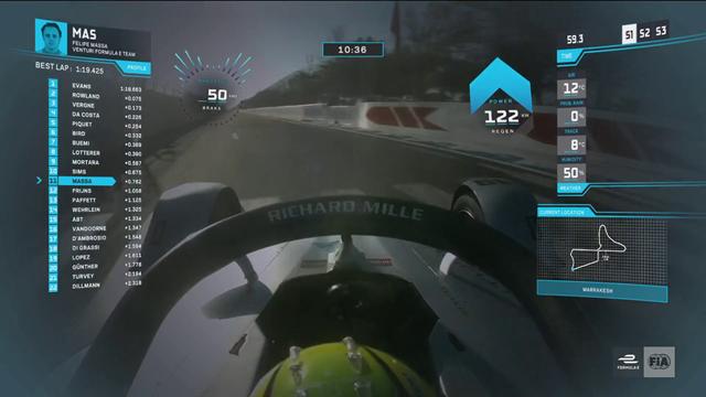 Onboard-Runde mit Massa: Das ist die Strecke in Marrakesch