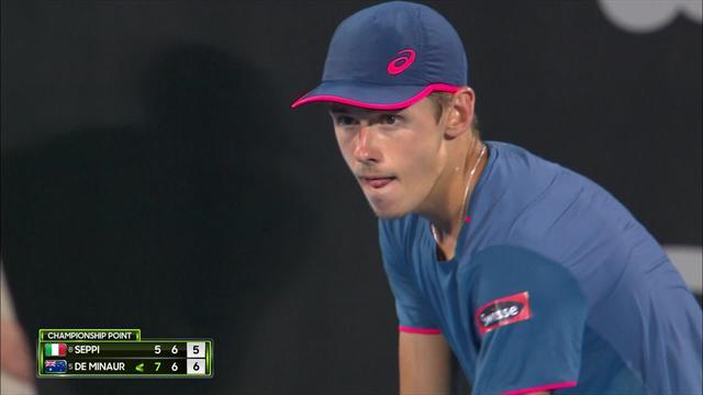 De Minaur feiert erfolgreiche Generalprobe für die Australian Open