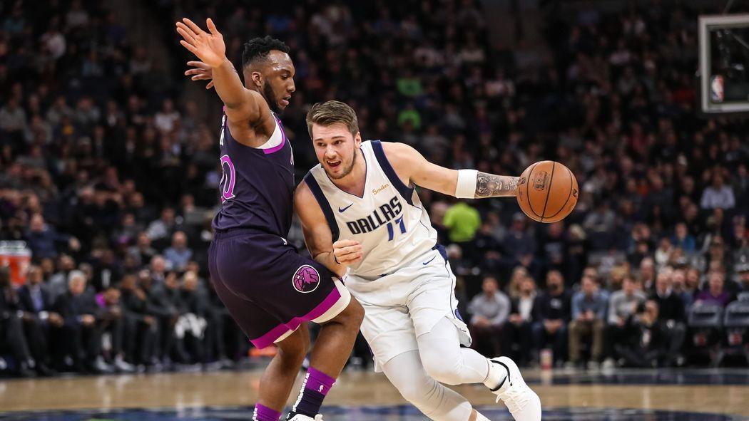 NBA roundup: Luka Doncic hits big 3-pointer to sink Wolves