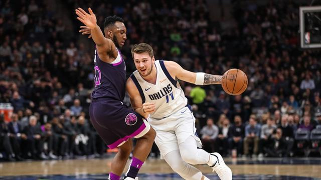 NBA roundup: Doncic hits big 3-pointer to sink Wolves