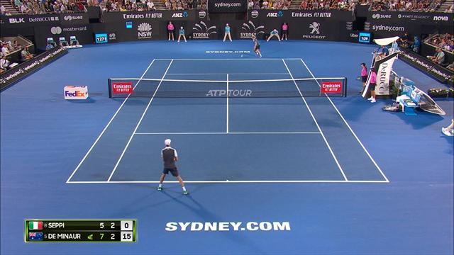 Alex de Minaur wins maiden career title at ATP Sydney