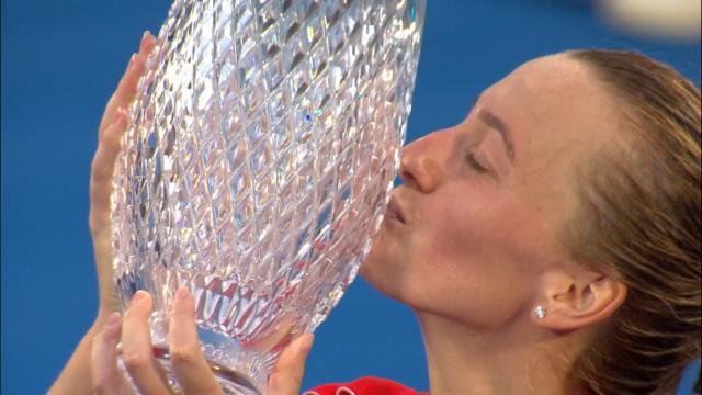 Mal embarquée, Kvitova a cravaché pour signer son 26e succès