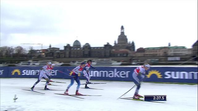 Schwedischer Dreifachsieg: Nilsson gewinnt den Sprint in Dresden