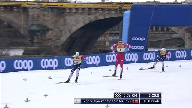 Norwegischer Triumph: Skar holt sich den Sieg beim Sprint in Dresden