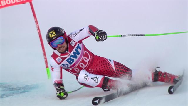 Marcel Hirscher dominates again in Adelboden