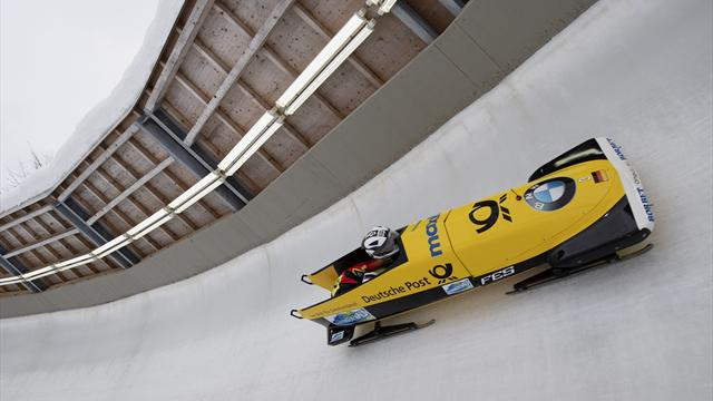 Jamanka and Drazek bag World Cup and European bobsleigh double